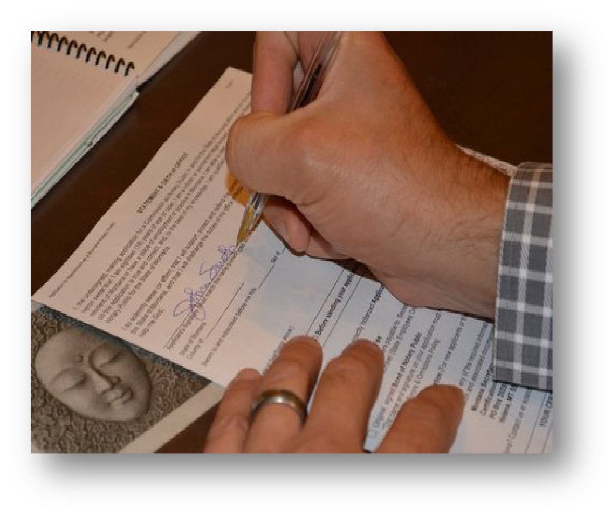 He Or She Should Just Sign Again As Close To The Original Signature As  Possible When Witnessing A Signature, The Notary Will Do The Following: