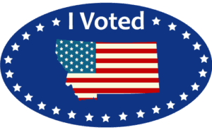 photo relating to I Voted Stickers Printable named Employ the \u201cI Voted\u201d Sticker Montana Secretary of Nation