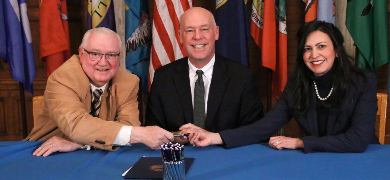 Signing of Senate Bill 169