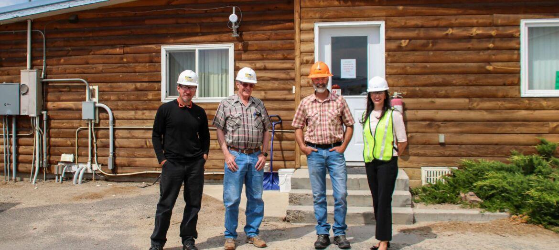 Secretary Christi Jacobsen visited Sun Mountain Lumber, Inc. on July 7, 2021.