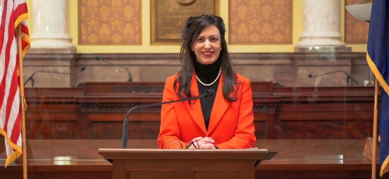 Secretary Christi Jacobsen inauguration