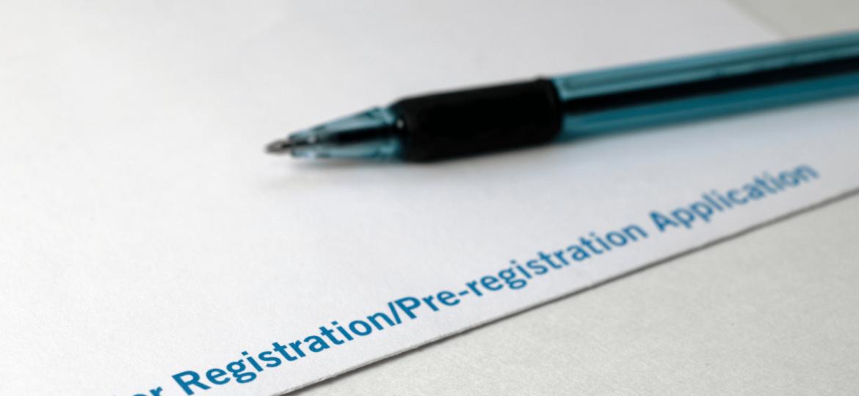 Generic voter registration application